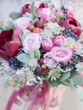 Фолиесгрин, оформление цветами - фото 1