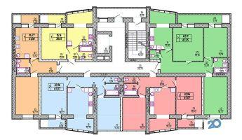 Львовский, жилой комплекс - секция 3