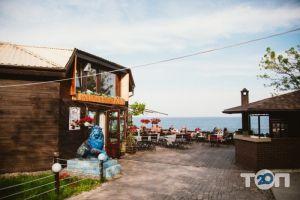 Santorini, кафе на берегу моря Санторини - фото 1