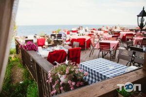 Santorini, кафе на берегу моря Санторини - фото 5